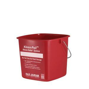 Sanitizing Pail Red 3 qt - Home Of Coffee