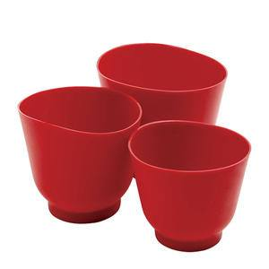 Silicone Bowl Set Red - Home Of Coffee