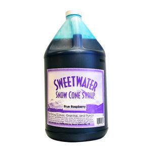 Snow Cone Blue Raspberry Syrup - Home Of Coffee