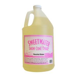 Snow Cone Neutral Base Syrup - Home Of Coffee