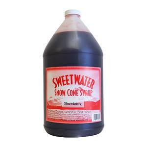 Snow Cone Strawberry Syrup - Home Of Coffee