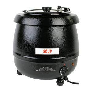 Soup Warmer Black 10.5 qt - Home Of Coffee