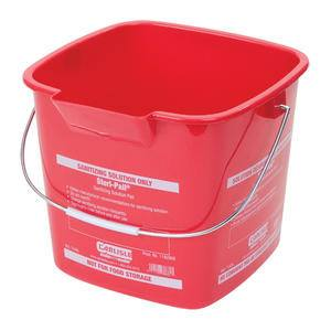Steri Pail® Square Red 6 qt - Home Of Coffee