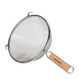 "Strainer Double Mesh Heavy Duty 14"" - Home Of Coffee"