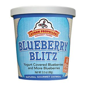 Straw Propeller Blueberry Blitz Oatmeal - Home Of Coffee