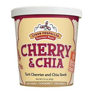 Straw Propeller Cherry & Chia Oatmeal - Home Of Coffee