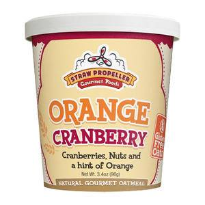 Straw Propeller Orange Cranberry Oatmeal - Home Of Coffee