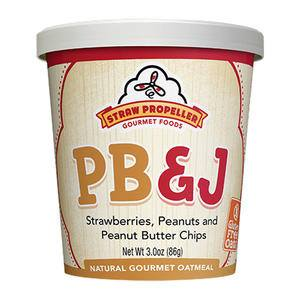 Straw Propeller PB & J Oatmeal - Home Of Coffee