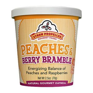 Straw Propeller Peaches & Berry Bramble Oatmeal - Home Of Coffee