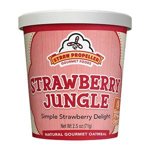 Straw Propeller Strawberry Jungle Oatmeal - Home Of Coffee