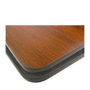 "Table Top Mahogany Black 48"" x 30"" - Home Of Coffee"