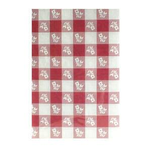 "Tablecover Red Gingham 54"" x 108"" - Home Of Coffee"