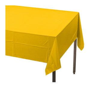 "Tablecover Yellow 54"" x 108"" - Home Of Coffee"