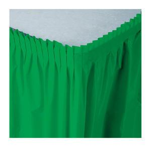 Tableskirt Green 14' - Home Of Coffee