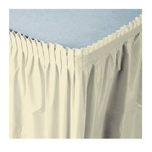 Tableskirt Ivory 14' - Home Of Coffee
