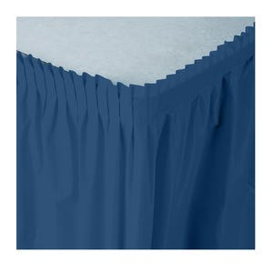 Tableskirt Navy 14' - Home Of Coffee