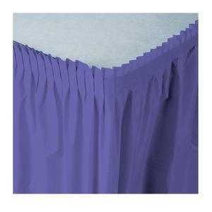 Tableskirt Purple 14' - Home Of Coffee
