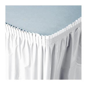 Tableskirt White 14' - Home Of Coffee