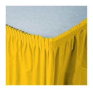 Tableskirt Yellow 14' - Home Of Coffee