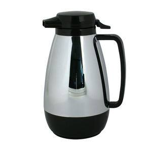 Thermo-Serv™ Push Button Black/Stainless 1 ltr - Home Of Coffee