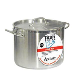 Titan Series™ Induction Stock Pot with Cover 20 qt - Home Of Coffee