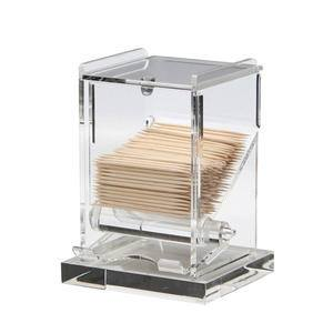 Toothpick Dispenser Clear - Home Of Coffee