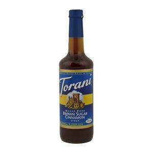 Torani® Brown Sugar Cinnamon Syrup Sugar Free - Home Of Coffee