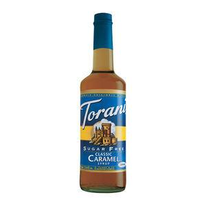 Torani® Caramel Classic Syrup Sugar Free - Home Of Coffee