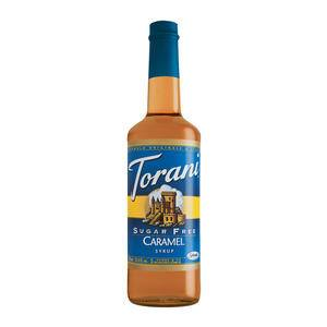 Torani® Caramel Classic Syrup Sugar Free PET - Home Of Coffee