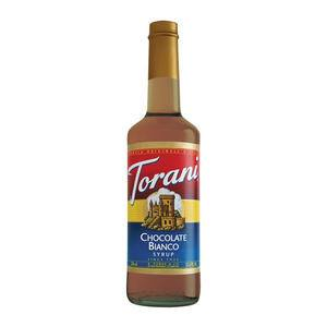 Torani® Chocolate Bianco (White Chocolate) Syrup - Home Of Coffee