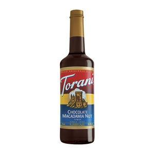 Torani® Chocolate Macadamia Nut Syrup - Home Of Coffee