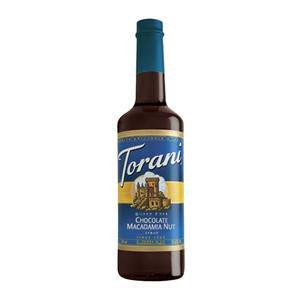 Torani® Chocolate Macadamia Nut Syrup Sugar Free PET - Home Of Coffee