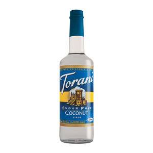 Torani® Coconut Syrup Sugar Free - Home Of Coffee
