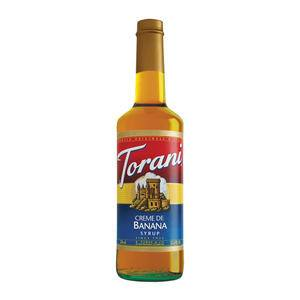 Torani® Creme De Banana Syrup - Home Of Coffee