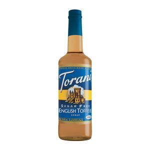 Torani® English Toffee Syrup Sugar Free - Home Of Coffee