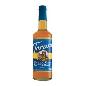 Torani® Salted Caramel Syrup Sugar Free - Home Of Coffee