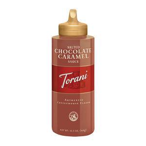 Torani® Salted Chocolate Caramel Sauce Retail - Home Of Coffee