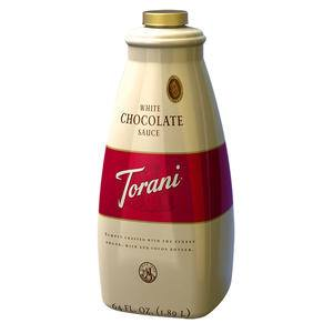 Torani® White Chocolate Sauce - Home Of Coffee