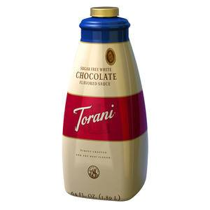 Torani® White Chocolate Sugar Free Sauce - Home Of Coffee