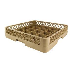 Traex® Cup Rack 25 Compartment with Tilt Bar Beige - Home Of Coffee