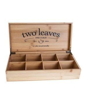 Two Leaves and a Bud Bamboo Presentation Box - Home Of Coffee