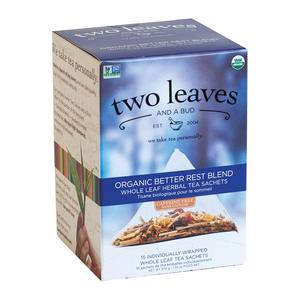 Two Leaves and a Bud Organic Better Rest Blend - Home Of Coffee