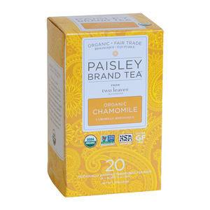 Two Leaves and a Bud Paisley Organic Chamomile - Home Of Coffee