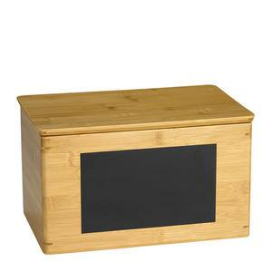 "Write-On™ Bamboo Riser Rectangular 13"" x 8"" x 7"" - Home Of Coffee"