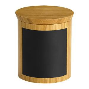 "Write-On™ Bamboo Riser Round 5"" x 5"" x 5"" - Home Of Coffee"