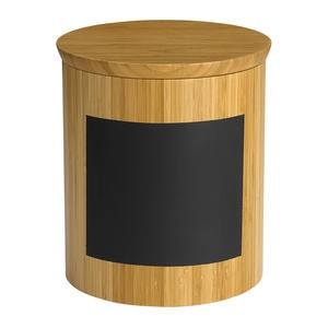 "Write-On™ Bamboo Riser Round 9"" x 9"" x 10"" - Home Of Coffee"