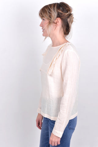 ringo top / polder / tullarue / paris / dutch designers / ruffle