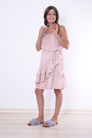 scarlette ruffle dress