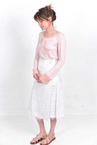 nikki chasin - jetty wrap skirt - tullarue - cotton - handmade