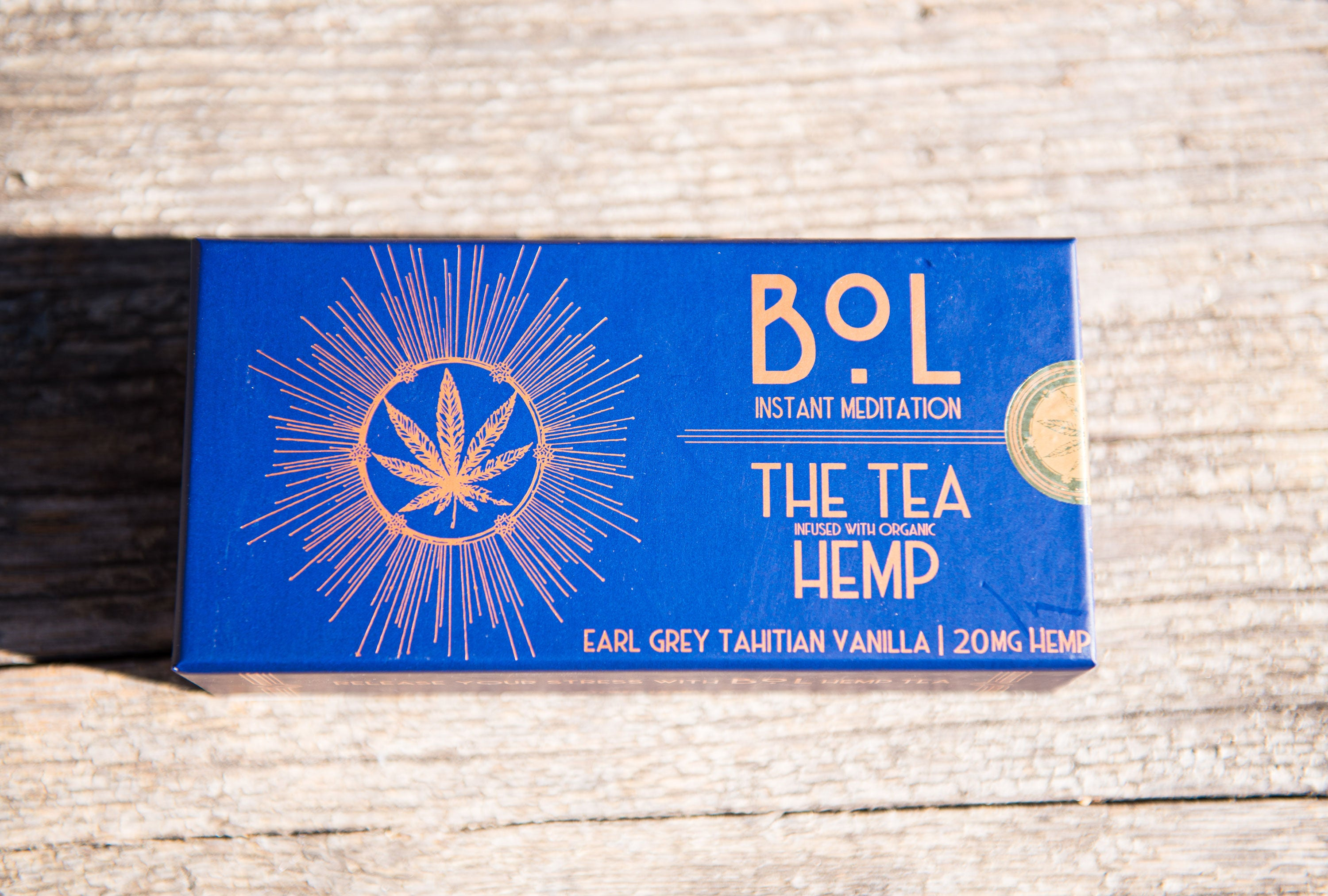 THE LUXURY HEMP TEA BOX